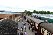 """Bluebell Line - Sheffield Park - """"All change"""", end of the line."""