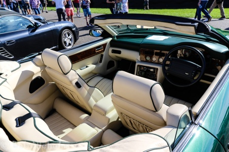 1993 Aston Martin - 5340 cc - Nice leather but not much leg room in the back