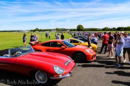 Goodwood - Looking from Madgwick Corner back to startline. Theres a lot of cars here.
