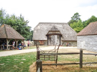 Court Barn from Lee-on-Solent