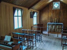 South Wonston Church - Built 1908, 30 feet long by 15 feet wide