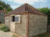19th Century Stable from West Wittering. Now being used as a potting shed