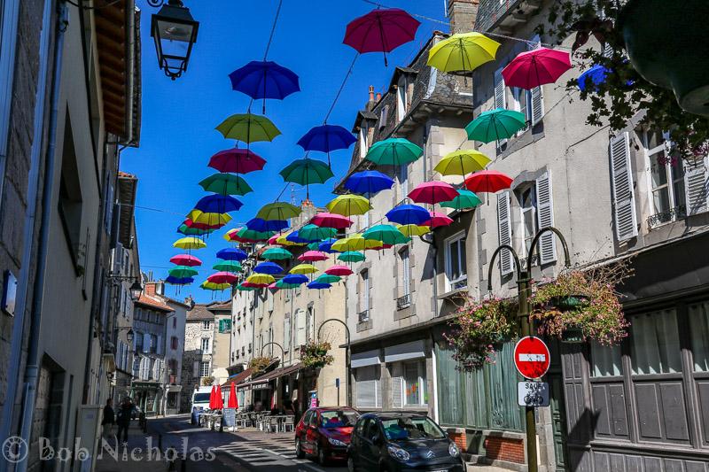 Aurillac - Umbrella Display