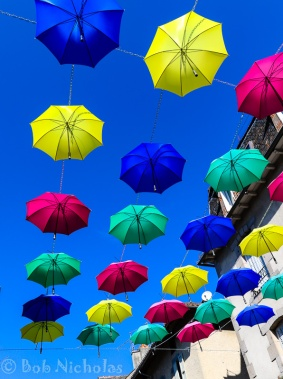 Aurillac - Umbrella Display