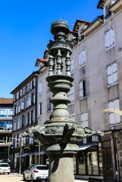 Aurillac - Fountain