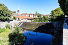 Aurillac - La Jordanne River