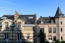 Chartres - View from our window