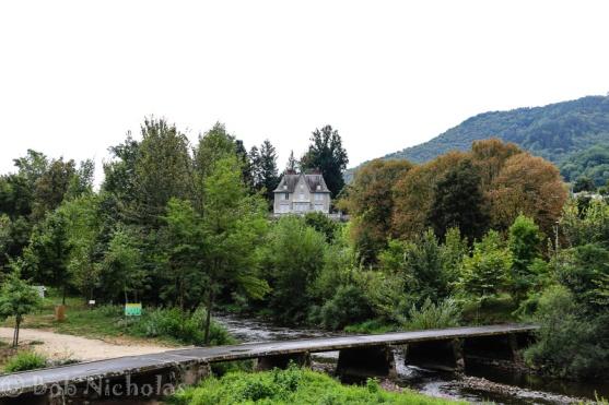 Entraygues-sur-Truyere - Bridge over the Lot River