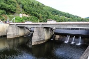EDF Hydro-Electric Dam at Cambeyrac