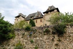 Entraygues-sur-Truyere - 13th Century Chateau