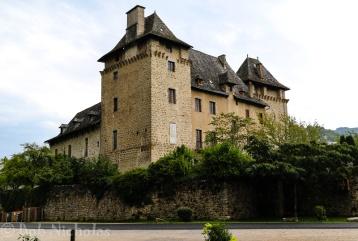 Entraygues sur Truyère - 13th Century Chateau
