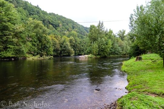 Entraygues sur Truyère - Truyere River