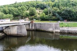 EDF Hydro-Electric Dam at Cambeyrac
