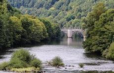 13th century bridge over La Truyère