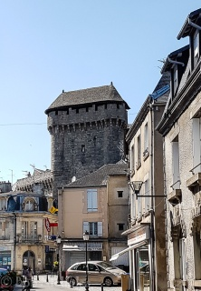 Saint-Jean Gateway dating from the 13th century, all that remains of the former ramparts.