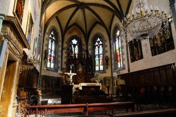 Salers - 13th century Eglise Saint Mathieu