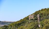 Tournermire - view of Château d'Anjony