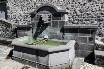 Fountain, Place de L'Hotel de Ville, Vic-sur-Cere