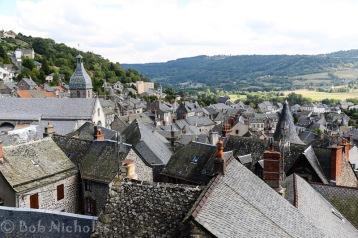 Murat - View from Rocher de Bonnevie