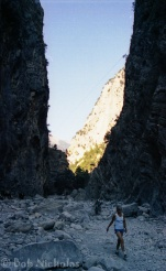 "Samaria Gorge, Crete - the ""Iron Gates"""