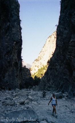 """Samaria Gorge, Crete - the """"Iron Gates"""""""