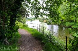 River Weaver, Acton Bridge, Cheshire