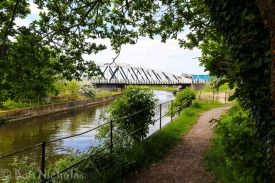 Acton Swing Bridge, Cheshire