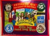 Peterloo Banner - Norbrook Youth Club