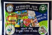 Peterloo Banner - Styal Primary School