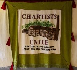 Chartist Banner -