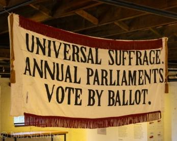 Suffrage Banner -