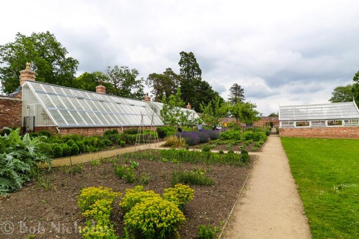 Glass House, Kitchen Garden - Quarry Bank Mill