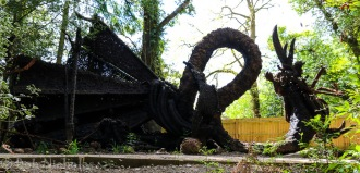 Final Throes of Dragon Tableaux (Horseshoe Dragon)