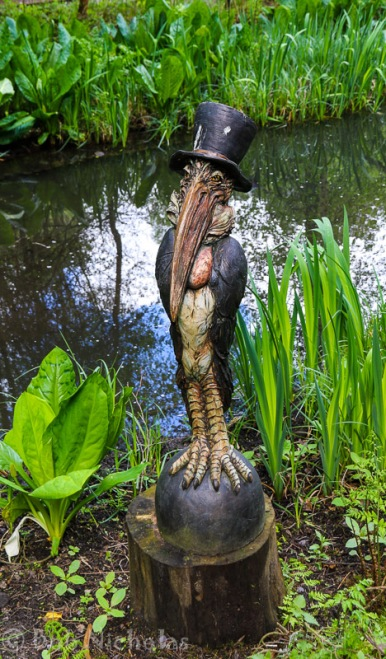 Stork in a Top Hat